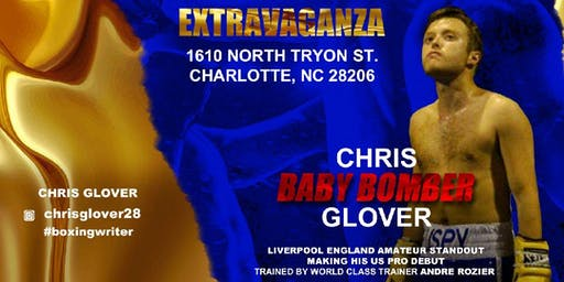 "Chris ""Baby Bomber"" Glover Live Pro Boxing Event 9/21/19"
