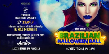 22ND ANNUAL BRAZILIAN HALLOWEEN BALL tickets