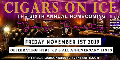 "Cigars on Ice - ""Homecoming  Day Party"""