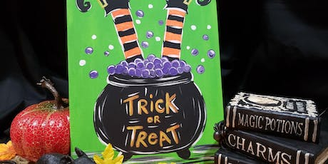 Witch Trick or Treat tickets