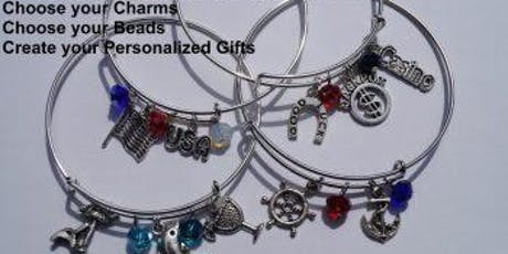 Make and Take Expandable Charm Bracelet tickets