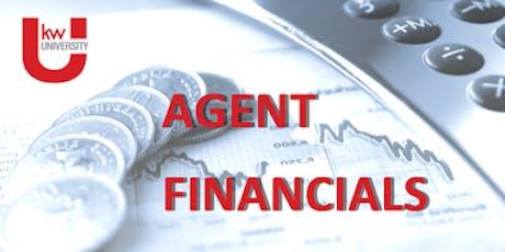 Agent Financials  tickets