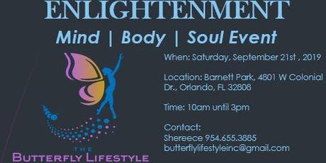 Enlightenment - Mind, Body & Soul Health Event tickets