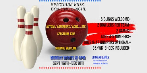 Spectrum Kids Bowling League