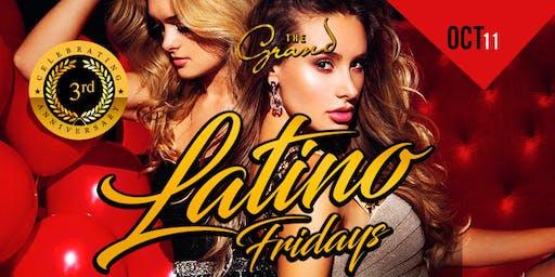 LATINO  FRIDAYS AT THE GRAND NIGHT CLUB