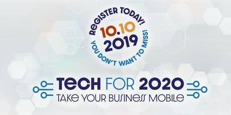 TECH FOR 2020 tickets