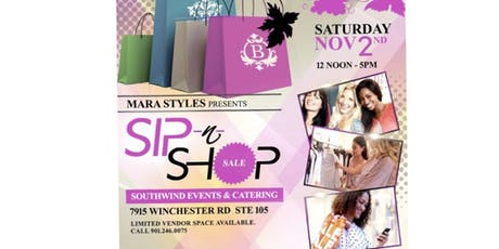 Sip and Shop by Mara Styles tickets