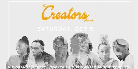 The 1st Inaugural Creators Awards Celebration 2019 tickets