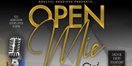 OPEN MIC THURSDAYS-SOULFUL SESSIONS  tickets