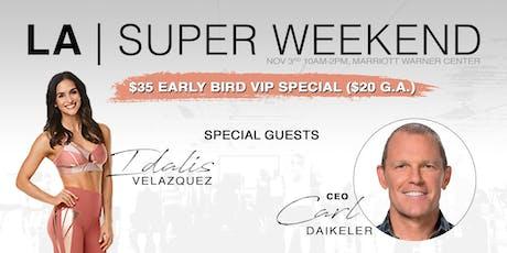 LA Super Sunday tickets