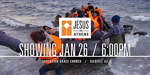 Jesus in Athens in Gilbert, AZ