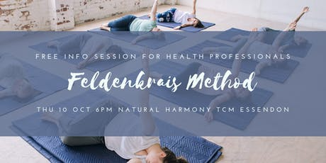 Feldenkrais Method - free info session & taster for health professionals tickets