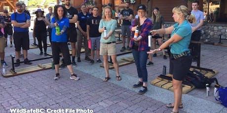 Bear Spray Demonstration/Workshop, Harrison Hot Springs/Agassiz tickets