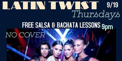 Latin Twist Thursdays DJ  CRUZE