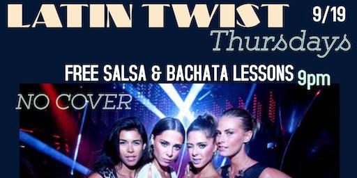 Latin Twist Thursdays DJ  CRUZE