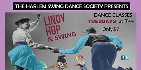 Harlem's Lindy Hop and Swing Dance Class - FREE for Youth! ALL are Welcome tickets
