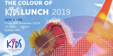The Colour of KYDS lunch 2019 tickets