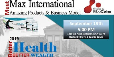 Meet Max International - Amazing Products and Business Model