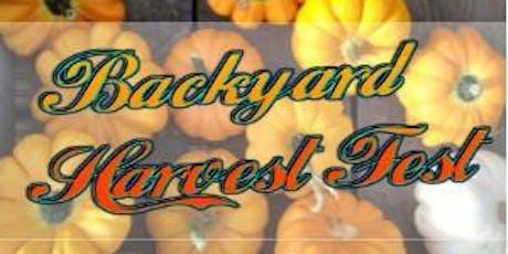 Backyard Harvest Fest tickets