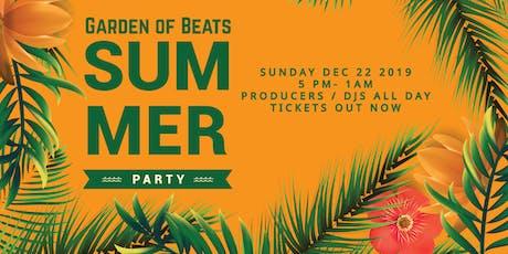 Garden of Beats - Summer Party tickets