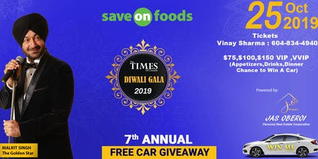 Diwali Gala & Awards Night - 2019 tickets