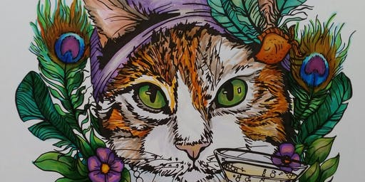 Illustration & Copic Marker Magic with Hannah Complin October