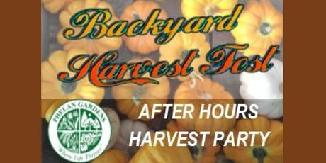 After Hours Harvest Party tickets