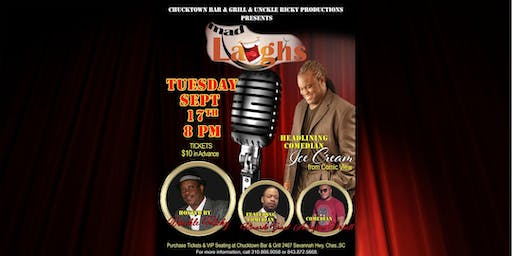 Mad Laughs Comedy Show featuring Ice Cream from Comic View