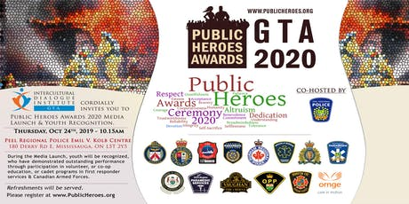 Media Launch of Public Heroes Awards tickets