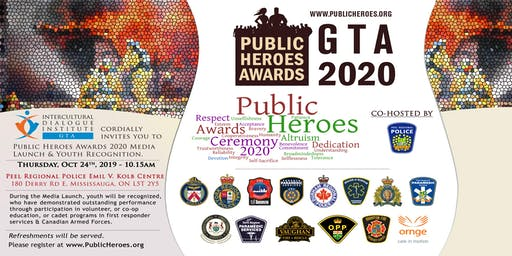 Media Launch of Public Heroes Awards