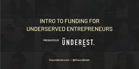 Funding For Underrepresented Businesses tickets