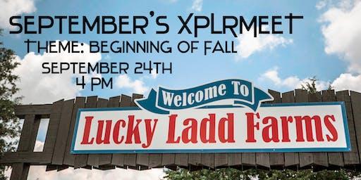 XPLR.NASH September's XPLRMEET- The Start of Fall