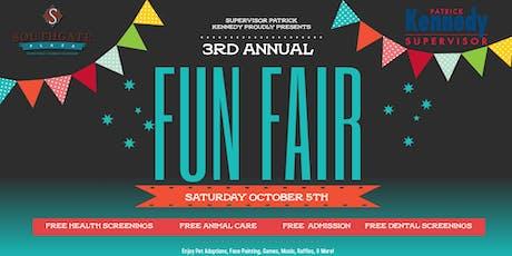 Supervisor Patrick Kennedy's 3rd Annual Fun Fair! tickets