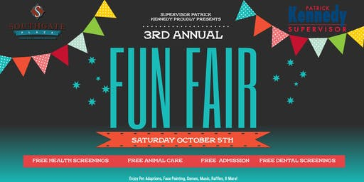 Supervisor Patrick Kennedy's 3rd Annual Fun Fair!