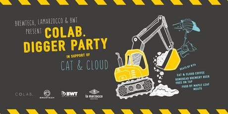 """Colab """"Digger Party"""" : Cat & Cloud Coffee tickets"""