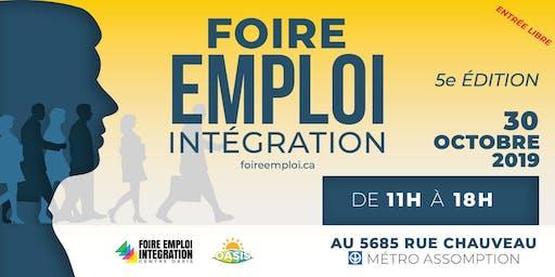 FOIRE-EMPLOI INTÉGRATION 2019