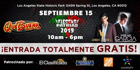 Que Buena Fiestas Patrias 2019  tickets