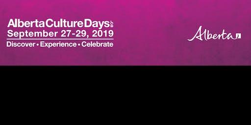 Alberta Culture Days 2019 By IDI