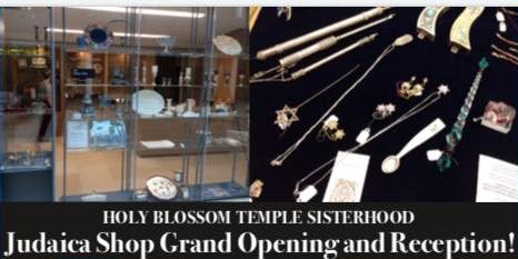 Wine and Cheese Reception Judaica Shop Opening with Featured Artist