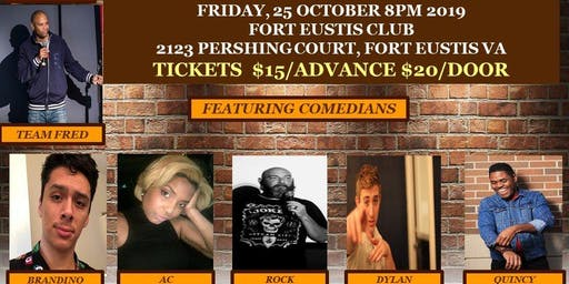 Fort Eusits Friday Night Comedy Show