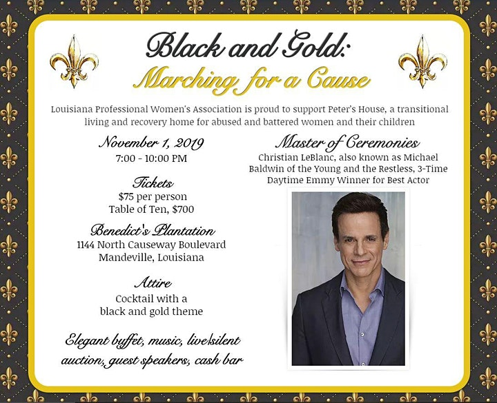 Black and Gold: Marching for a Cause image
