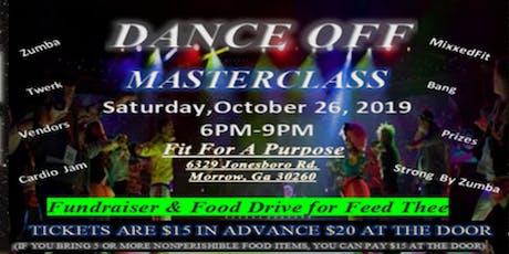 Dance Off Masterclass tickets
