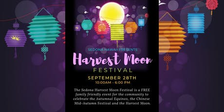 Harvest Moon Festival - Presented by Sedona Hawaii tickets