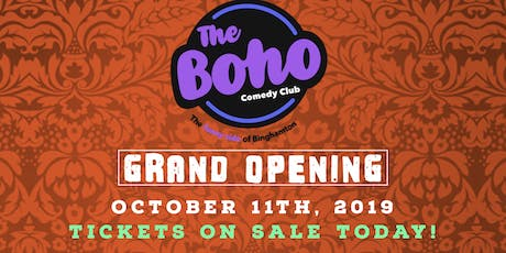 The Boho Grand Opening W/ Ken Rogerson! tickets