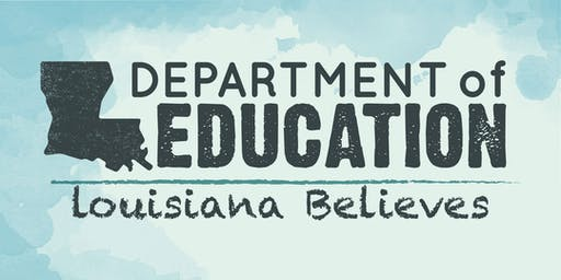 Fall 2019 LDOE Counselor Institutes - Allen