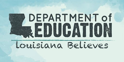Fall 2019 LDOE Counselor Institutes - Jefferson