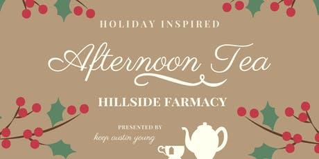 Holiday Inspired Afternoon Tea tickets