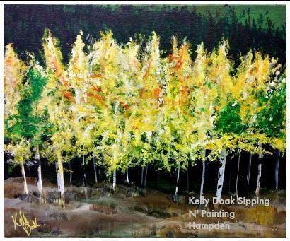 Paint Wine Denver Golden Aspens Mon Nov 25th 6:30pm $30