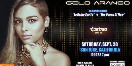 Gelo Arango The Queen Of Flow Usa Tour 2019 La Cantina San Jose Ca tickets