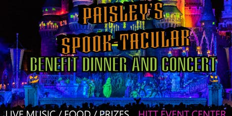 Paisley's Spook-tacular Benefit Dinner and Concert tickets